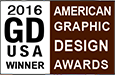 Graphic Design USA magazine American Graphic Design Awards Winner 2016