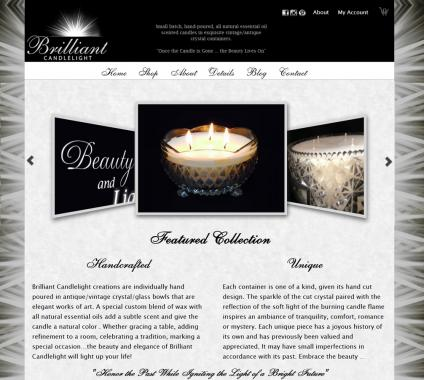 Brilliant Candlelight web site
