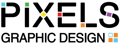 Pixels Graphic Design logo