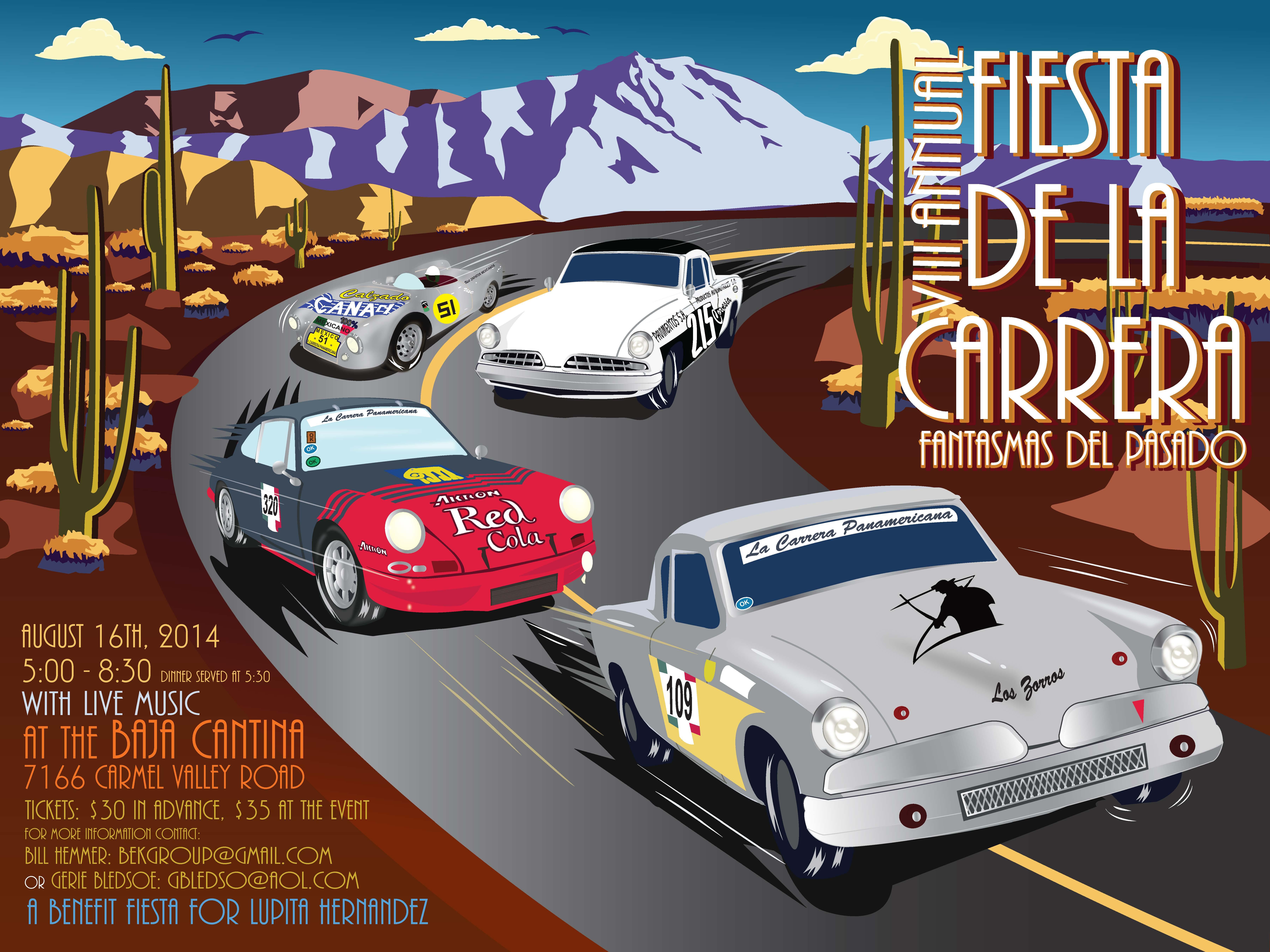 8th Annual Fiesta De La Carrera poster