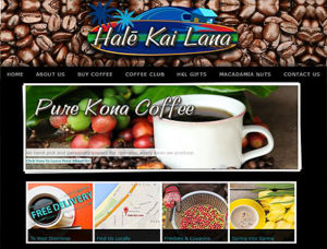 Hale kai lana - web design sample best of monterey site nominee